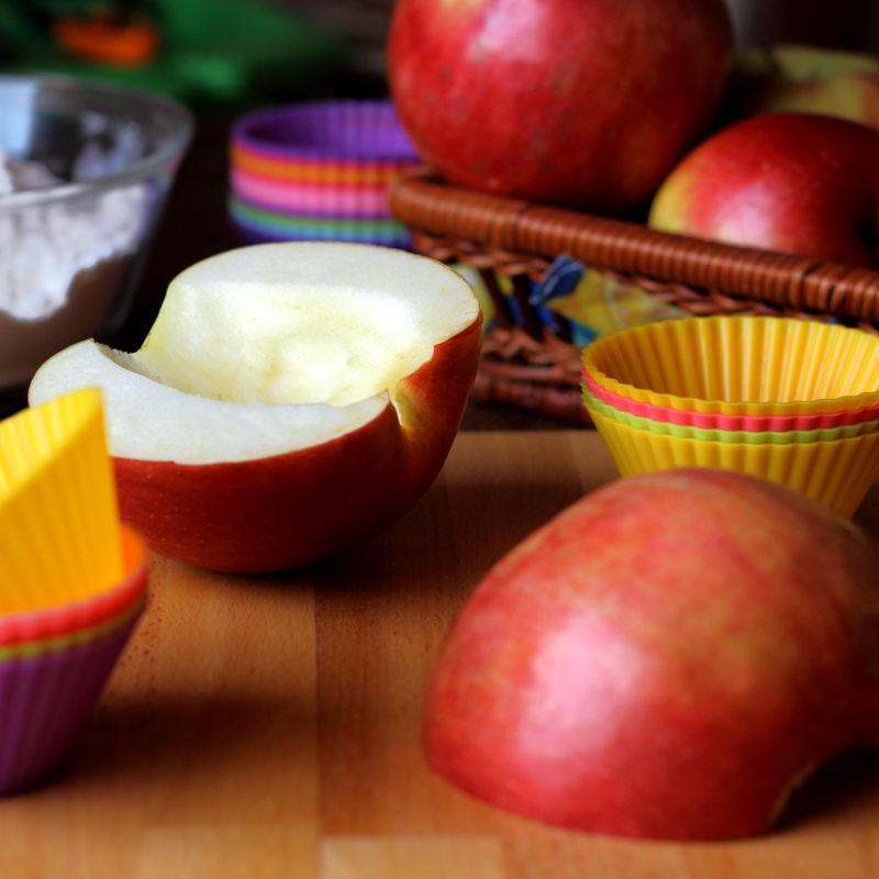 Almás fahéjas muffin